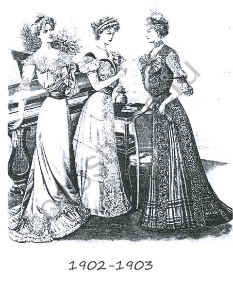 Выкройка платья на бретельках.  Бальные платья 19 20 век.
