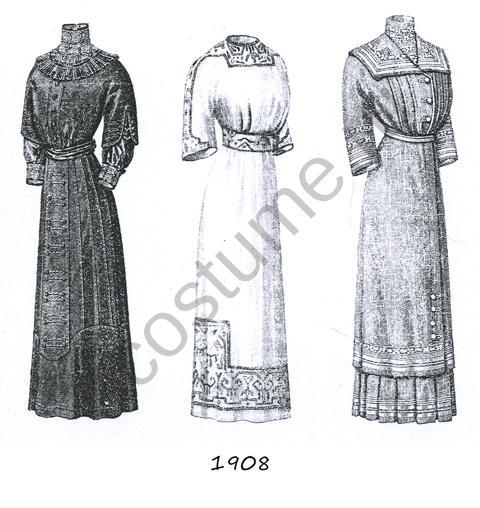 Эскизы платья и костюмы женские