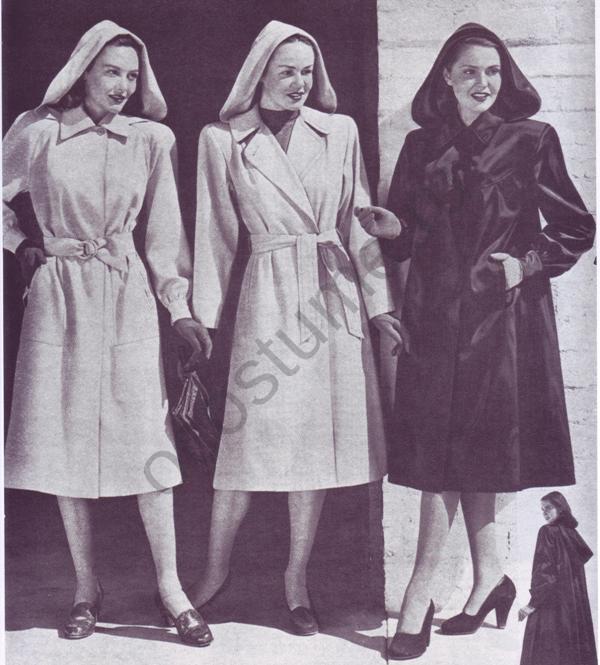Американская мода 40-х годов 20 века. зарегистрируйтесь.  Страны.