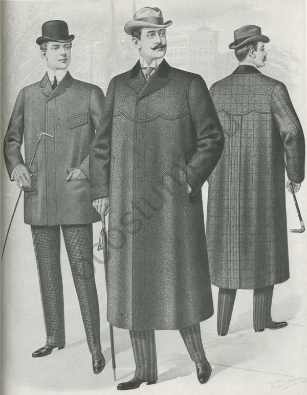 мужская мода в х годах в америке.