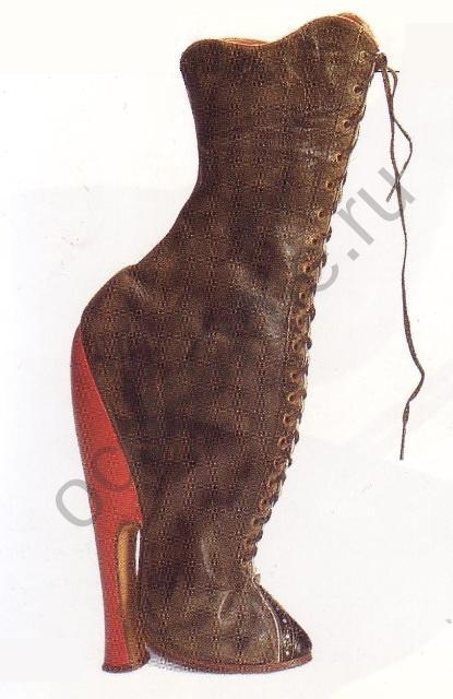 Женские платья 18 век англия