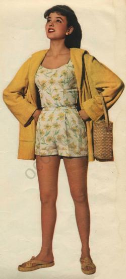 Пляжный костюм женский